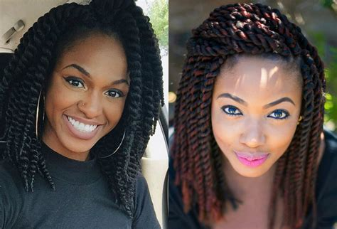 Crochet Hairstyles For Black by Crochet Braids Hairstyles Curls Or Twists Hairstyles