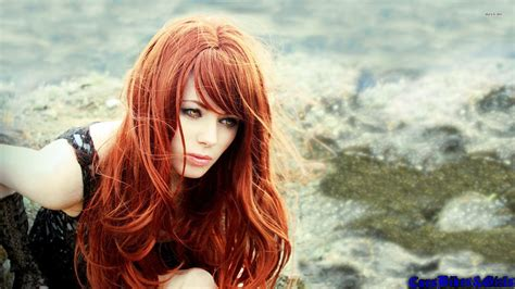 wallpaper girl red redhead wallpapers desktop page 5