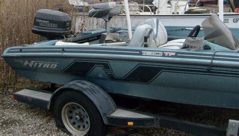 nitro bass boat value 1993 nitro boats 180 tf for sale in lynwood il 60411