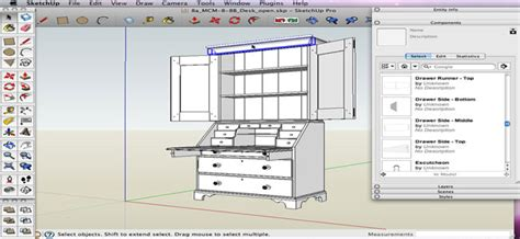 sketchup plugins for woodworkers how to navigate free woodworking models through sketchup