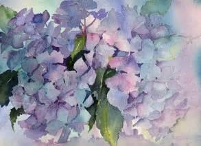 water colors hydrangea wildwood watercolors