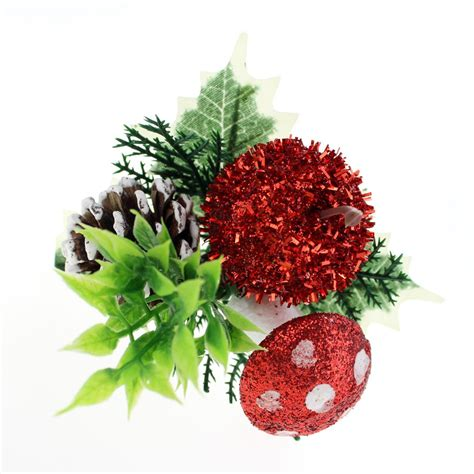 wholesale christmas floral picks picks