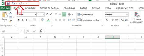 barra superior excel barra de herramientas de acceso r 225 pido en excel gerencie