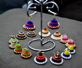 tutorial for quilling jhumkas 152 best images about quilled jewellery on pinterest