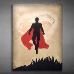 superman painting superman painted canvas canvas walls
