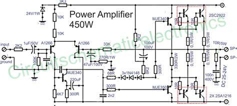 power amplifier power amplifier