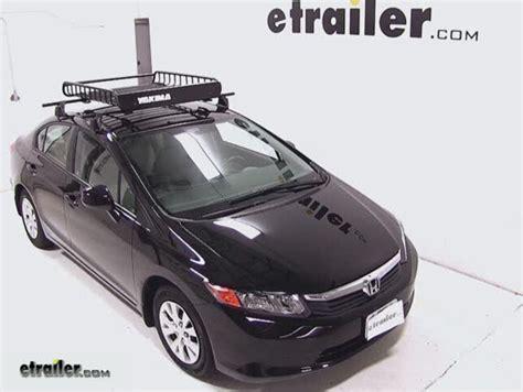 honda accord yakima loadwarrior roof rack cargo basket