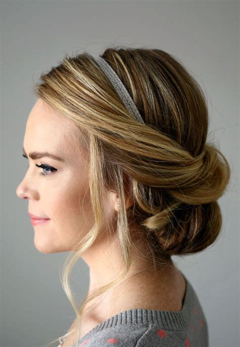 updo hairstyles headband 2762 best bridal hairstyles images on pinterest