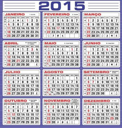 search results for calendario 2015 o numero das