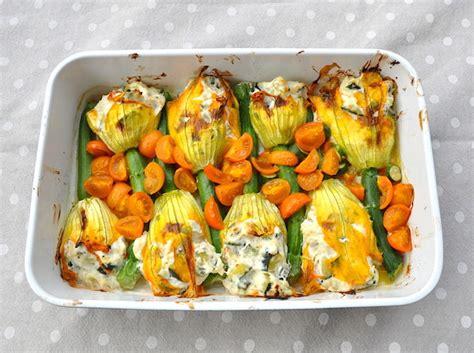 ricetta fiori di zucca ripieni al forno fiori di zucca ripieni al forno una cucina tutta per s 233