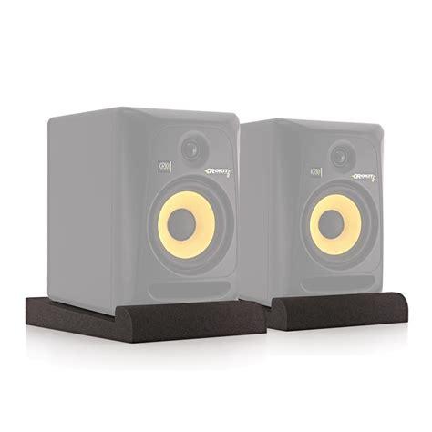 Monitor Di acoufoam 6 pad di isolamento da monitor studio di gear4music coppia a gear4music