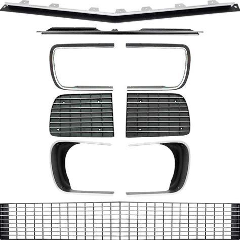 68 camaro grill 1968 chevrolet camaro parts exterior trim grill