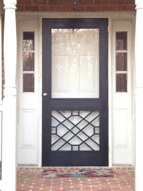 Front Screen Door Legacy Chippendale Sceen Doors Traditional Screen Doors Other Metro By Columbus