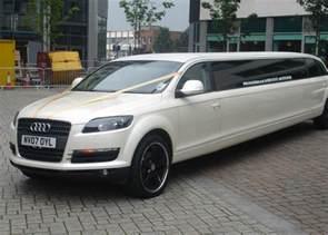 Audi Limosine Audi Q7 Limo Hire Audi Q7 Limousine Hire