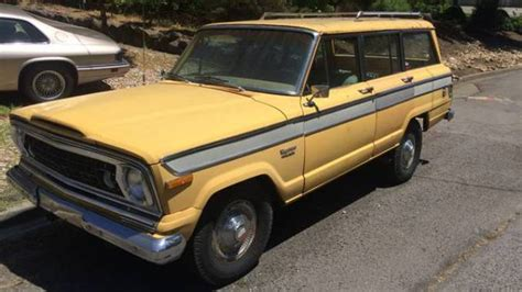 Napa Jeep 1974 Jeep Wagoneer Project For Sale In Napa County California