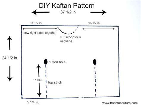 how to make a kaftan dress or top free pattern sew guide 25 best kaftan pattern trending ideas on pinterest