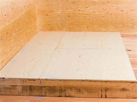 sub floor laying a plywood subfloor flooring ideas installation