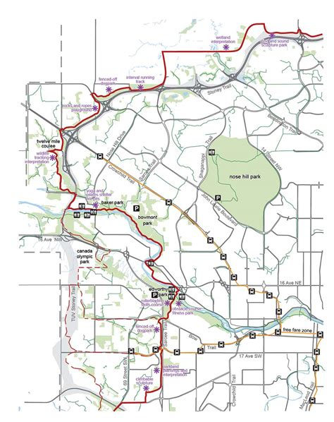 Calgary Outline by Rotary Mattamy Greenway Map Nw Calgary Experience Fish Creekexperience Fish Creek