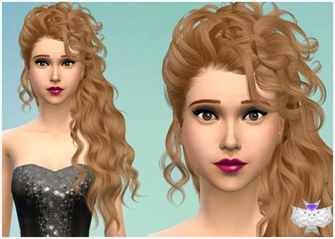 custom hair for sims 4 85 best images about sims 4 custom content on pinterest