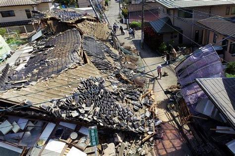 imagenes terremoto en japon 2016 dos potentes sismos sacuden jap 243 n y causan mas de 30