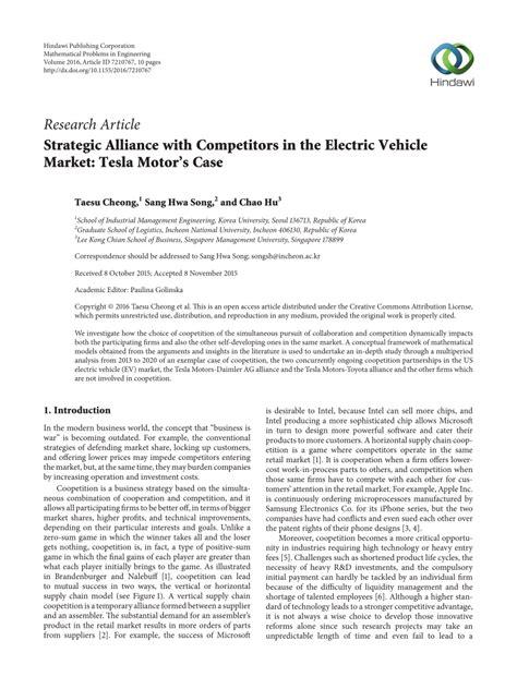 Alliance Mba Quora by Tesla Motors Competitors Impremedia Net