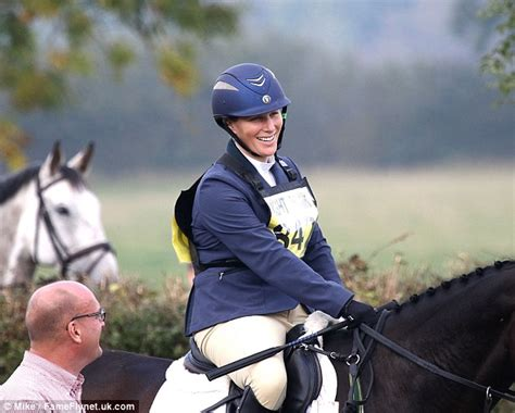 Ready Best Seller One Line Zara zara phillips changes in the middle of a field as she competes in equestrian trials