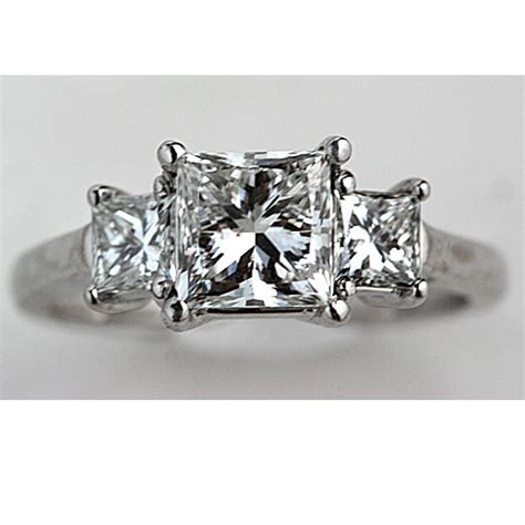 Princess Cut Diamond Wedding Rings   Fashion Belief