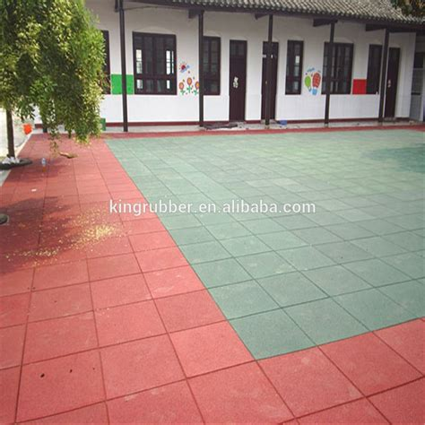 outdoor playground rubber flooring retardant