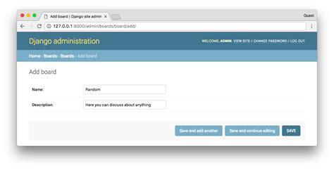 django creating test database slow a complete beginner s guide to django part 2