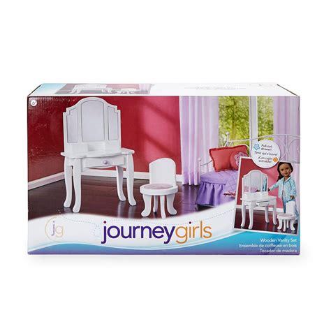 journey girls wooden vanity set toys   toys    dolls  ag pinterest