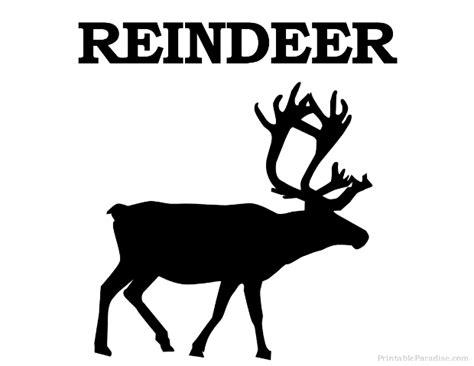 printable reindeer silhouette printable reindeer silhouette print free reindeer silhouette