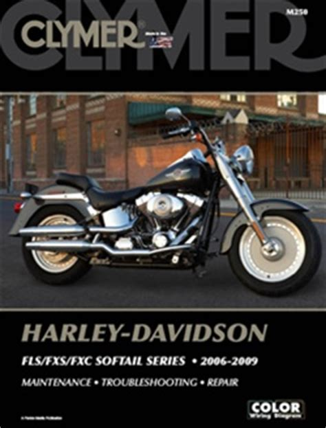 Harley Davidson Softail Service And Repair Manual Fls
