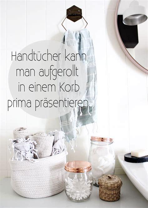 badezimmer handtuch dekorieren ideen oh what a room mein bad 5 tipps f 252 r aufbewahrung und