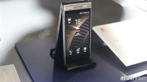 samsung w2019 samsung w2019 flip phone could be just around the corner pocketnow