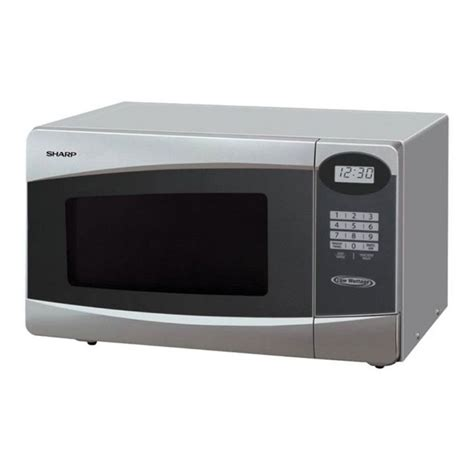 Kulkas Sharp Low Watt sharp low watt microwaves r 230r s silver free delivery