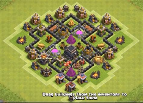 layout for th6 8 best town hall th6 farming bases anti giants 2018