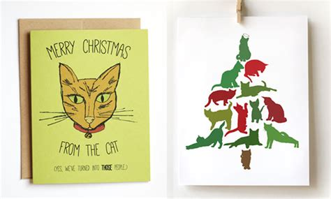 Christian Decor For Home handmade holiday cards with feline flair hauspanther