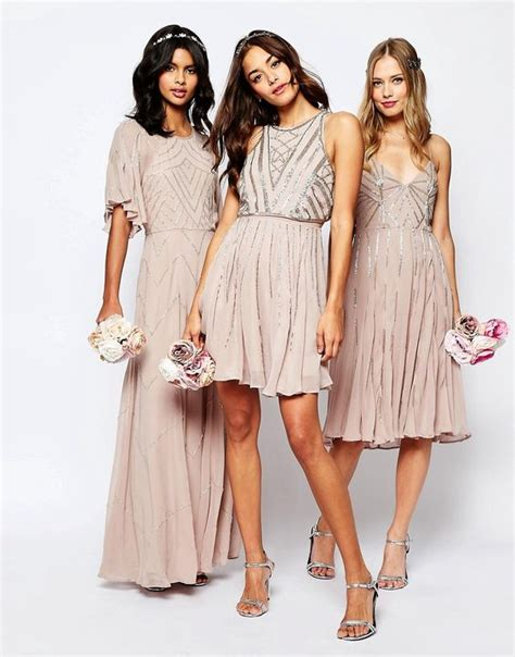 Dress Like A For Less Again by Wedding Get The Look And Neutral Bridesmaid Dresses On