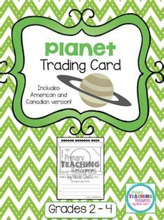 solar system trading cards template high school 1000 images about bulletin board ideas on