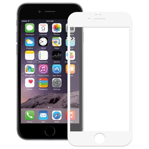 Iphone 55s Tempered Glass 026mm tempered glass screen protector for apple iphone 6s white