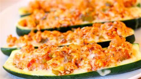 stuffed zucchini boats turkey sausage turkey stuffed zucchini boats clean delicious with