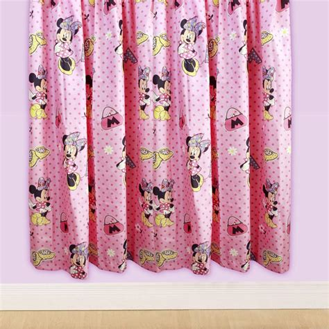 minnie mouse bedding and curtains disney minnie mouse bedding bedroom accessories free p