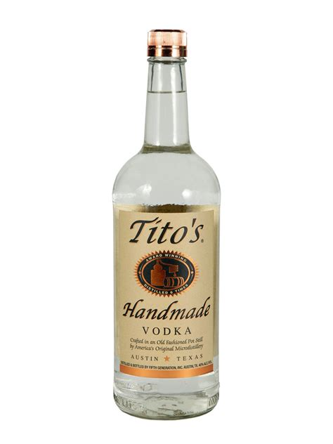 Titos Handmade - tito s handmade vodka 1l citygate wine spirits