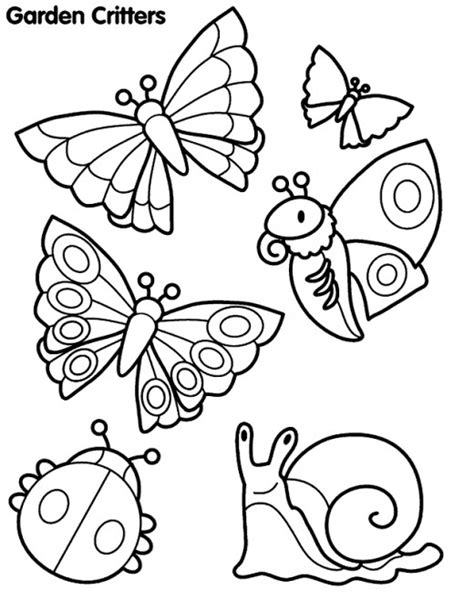 insects coloring page free coloring pages of cute insects