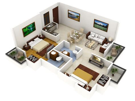 2 bhk small home design bhk independent house plans in arts inspirations 2 small