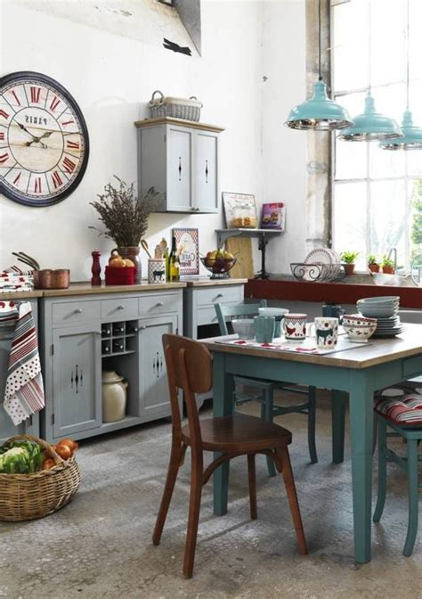 vintage decorating ideas for kitchens kitchen fantastic retro chic kitchen decor ideas and