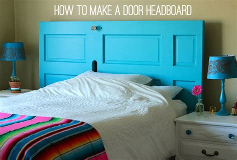 How To Make A Door A Headboard by From Front Door To Diy Headboard Socal D