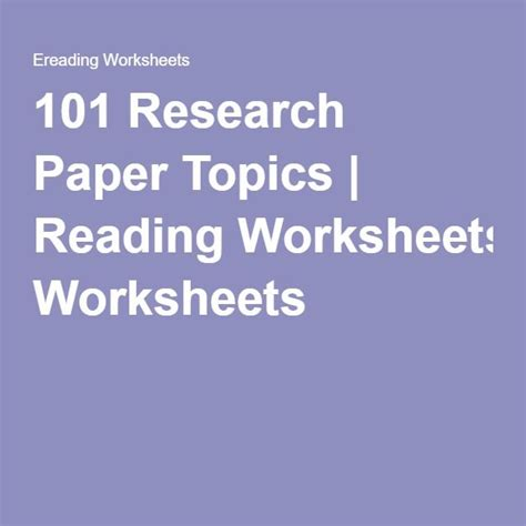 101 research paper 25 best ideas about research paper on term
