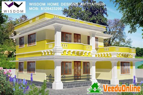 new kerala simple style home design 1760 sq ft