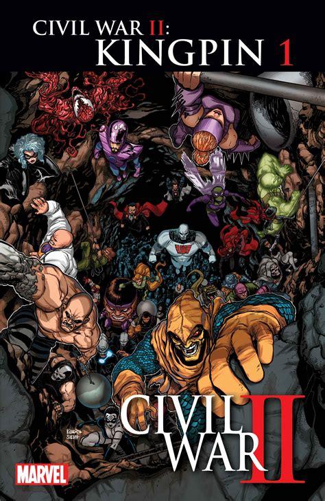 civil war ii marvel announces kingpin civil war series laughingplace